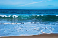 Power of the waves 2 Royalty Free Stock Images