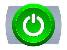 Free Power Web Button Stock Image - 7777711