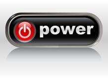 Power on - web button, icon Stock Photo
