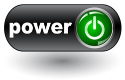 Power web icon Stock Photo