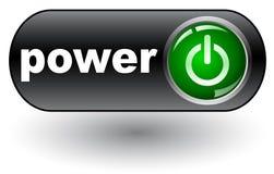 Power web icon Stock Photo