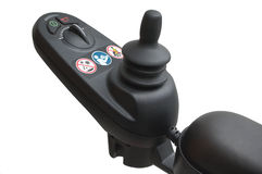 Power wheelchair joystick controller Royalty Free Stock Image