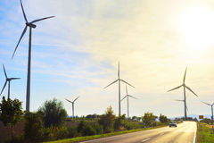 Power wind energy Stock Images