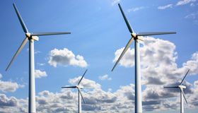 Power wind station Royalty Free Stock Photo