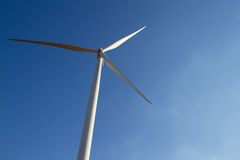 Power of wind turbine generating electricity Royalty Free Stock Images