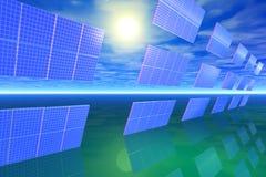 power1 ηλιακός Στοκ Εικόνες