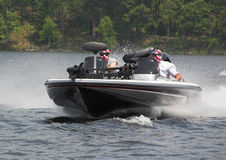 powerboat συναγωνιμένος Στοκ Φωτογραφία