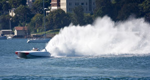 Powerboat Stock Image