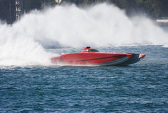 Powerboat Fotografie Stock