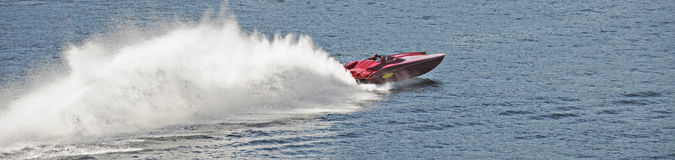 Powerboat immagini stock