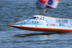 Powerboat Championship in China Stock Photo