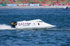 Powerboat Championship in China Royalty Free Stock Photos