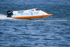 Powerboat Championship in China Royalty Free Stock Photo
