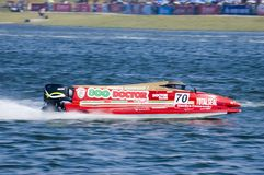 Powerboat Championship in China Stock Image