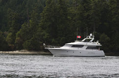 Powerboat di lusso Immagine Stock