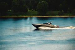Powerboat Stock Photo