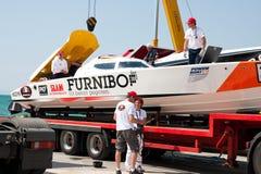 Powerboat grande P1 2010 de Yalta Prix Fotos de Stock