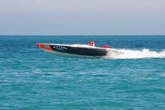 Powerboat grande P1 2010 de Yalta Prix Imagens de Stock