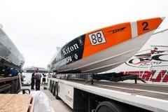 Powerboat grande P1 2010 de Yalta Prix Imagem de Stock