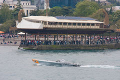 Powerboat grande P1 2010 de Yalta Prix Imagem de Stock Royalty Free