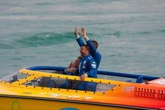 Powerboat grande P1 2010 de Yalta Prix Foto de Stock Royalty Free