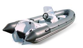 Powerboat op een witte achtergrond Stock Afbeelding