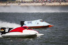 Powerboat racing Stock Photography