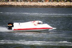 Powerboat racing Royalty Free Stock Photography