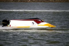 Powerboat racing Royalty Free Stock Photos