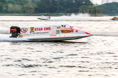 Powerboat racing Royalty Free Stock Image