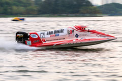 Powerboat racing Stock Images