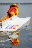 Powerboat sport Stock Images