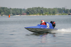 Powerboat sport Royalty Free Stock Images