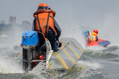 Powerboat sport Royalty Free Stock Photo