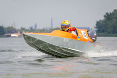 Powerboat sport Zdjęcia Royalty Free