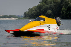 Powerboat sport Stock Image