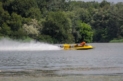 Powerboat sport Stock Photo