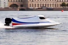 Powerboat sul campionato Fotografia Stock Libera da Diritti