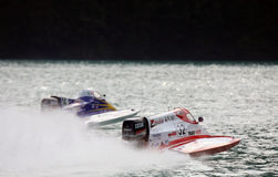 Powerboating F1000 Europa Meisterschaft. Folloni Lizenzfreies Stockbild