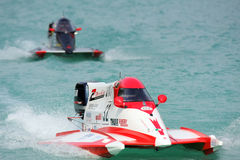 Powerboating F1000 Europa Meisterschaft. Folloni Stockfotos
