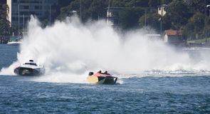 Powerboats Stock Images