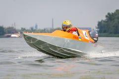 Powerboatsport Royaltyfria Foton