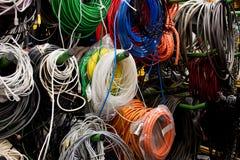 Powercords Stock Image