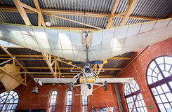 Powered hang glider at the technical museum in Togliatti, Russia Royalty Free Stock Image