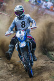 Powered by JG Team. 24 Hours of Resistance. International motorcycle Vall del Tenes. Barcelona, Spain. September 05, 2015 Royalty Free Stock Image
