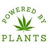 Powered by marijuana Stock Photography
