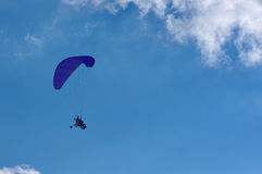 Powered paraglider 4 Royalty Free Stock Images