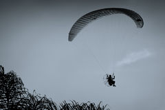 Powered paraglider Stock Photography