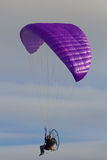 Powered paragliding Stock Photo