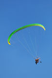 Powered paragliding Stock Images
